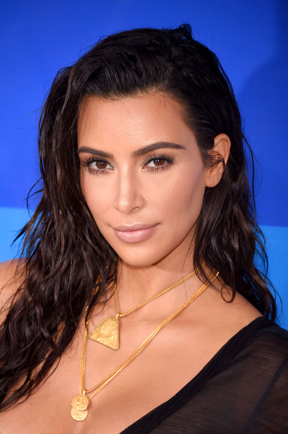 NEW YORK, NY - AUGUST 28: Kim Kardashian attends the 2016 MTV Video Music Awards at Madison Square Garden on August 28, 2016 in New York City. (Photo by Dimitrios Kambouris/WireImage)